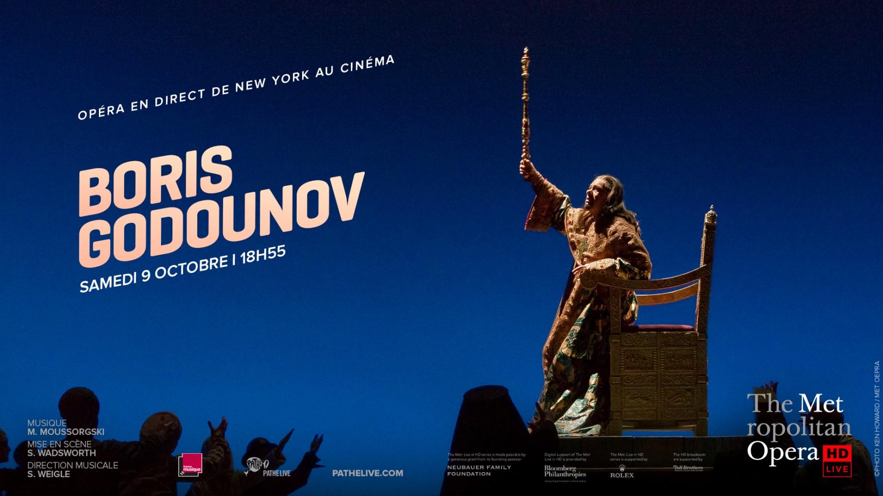BORIS GODOUNOV - MET OPERA LIVE