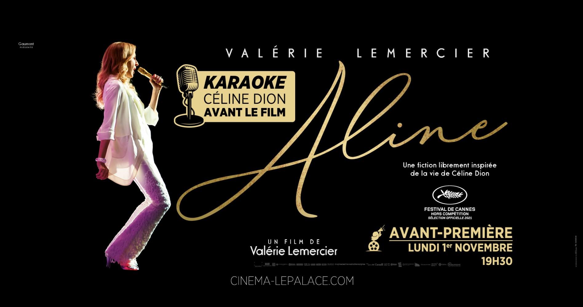 Aline en Avant-première + un Karaoké !