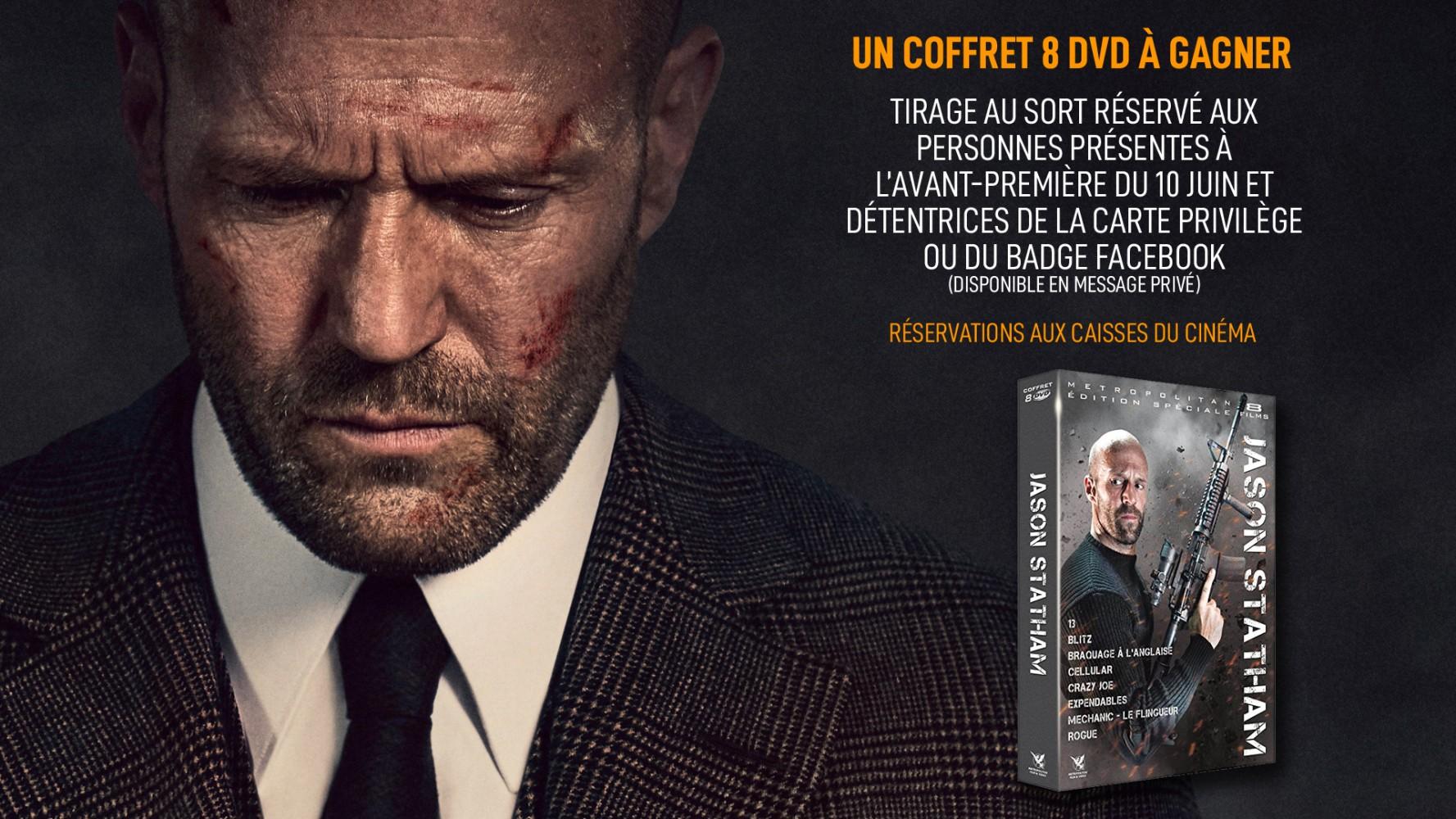 [JEU] Coffret 8 DVD Jason Statham à gagner !