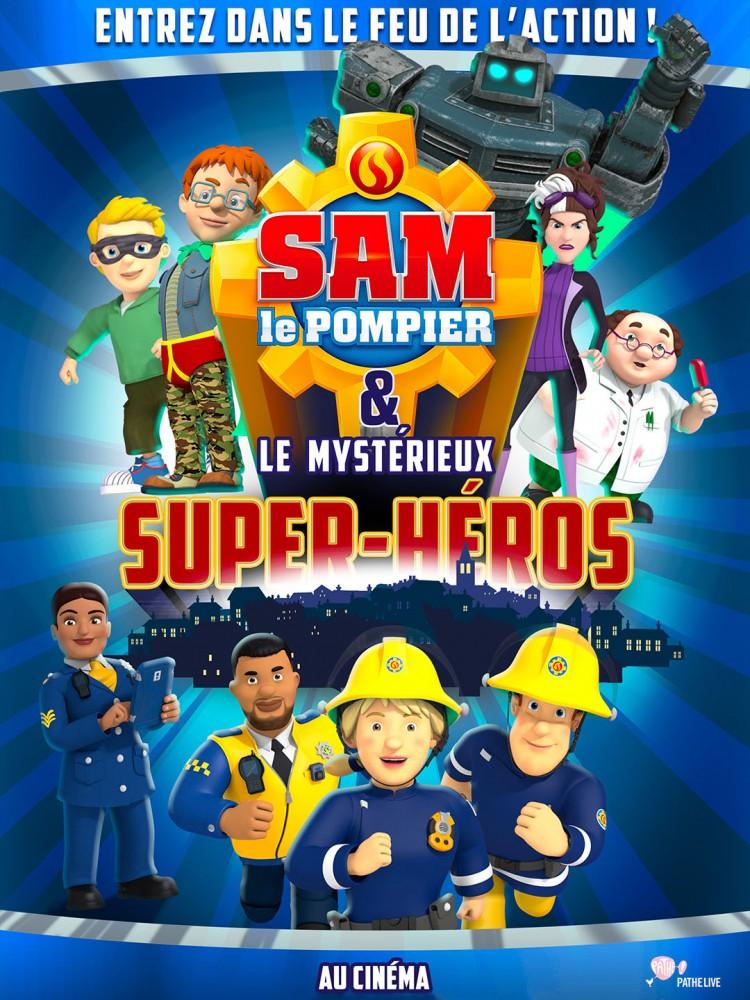 Sam Le Pompier & Le Mysterieux Super-heros